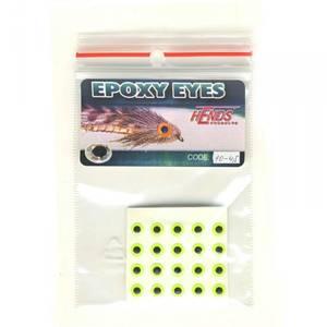 Bilde av Epoxy Eyes 4,5mm 10 fluo yellow