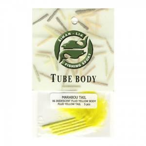 Bilde av Marabou Tail 06 - iridiscent fluo yellow
